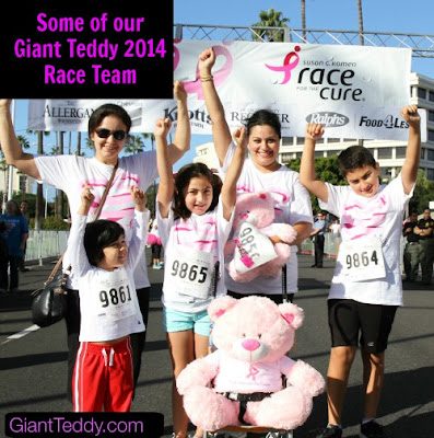 Giant Teddy Komen Race Team 2014