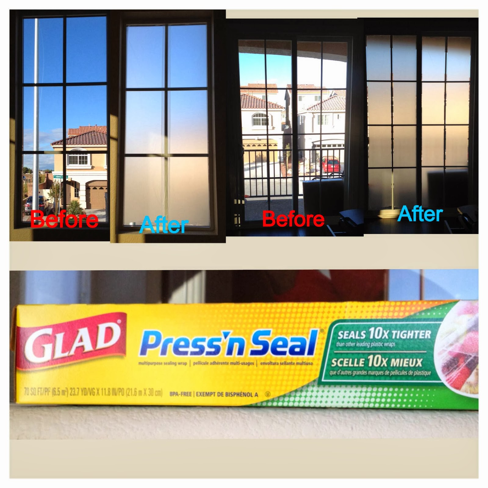 cheap and easy temporary privacy window covering