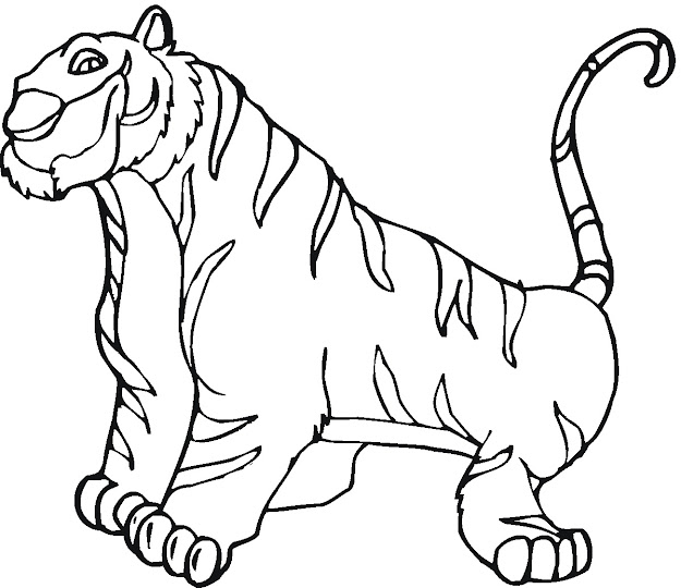 Desktopbackgroundshq  Backgrounds Styles Larger Public Tiger Coloring  Page Coloring Pages Coloring Page Tiger  Questionmarkitok Xszsavty
