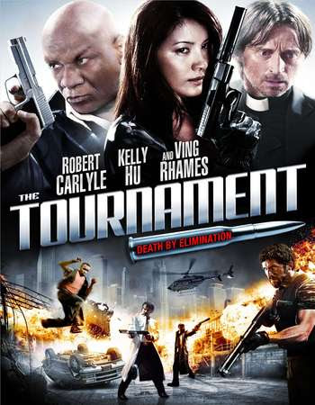 Poster Of Free Download The Tournament 2009 300MB Full Movie Hindi Dubbed 720P Bluray HD HEVC Small Size Pc Movie Only At worldfree4u.com