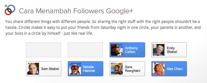 Cara Menambah Follower Google Plus