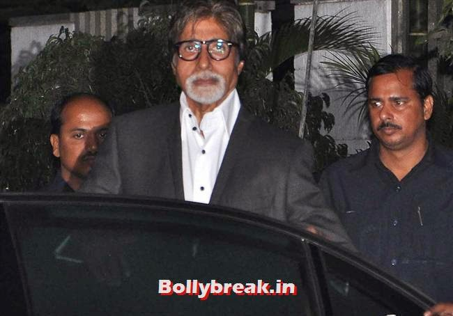 Amitabh Bachchan, Bollywood Celebs at Kangana Ranaut Birthday Bash Pics