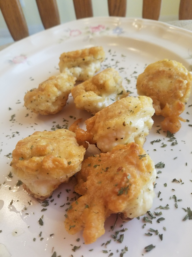 this is how to make Italian fried cauliflower