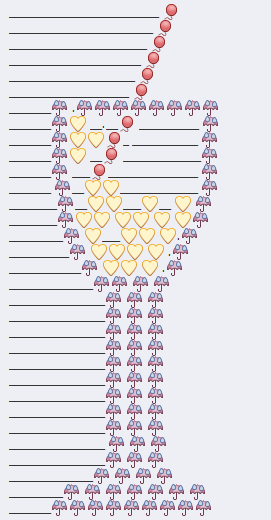 Cocktail Glass Emoji Art
