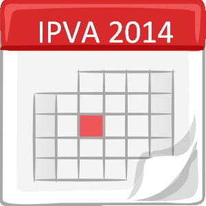 Calendário IPVA 2014 SP