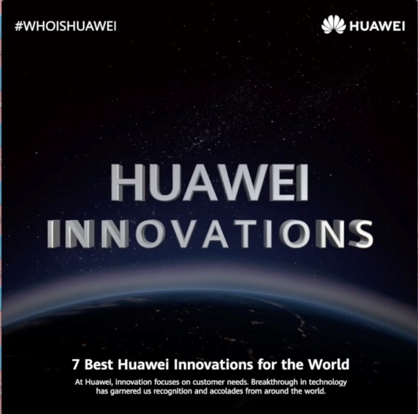 7 Innovations that Huawei Intros