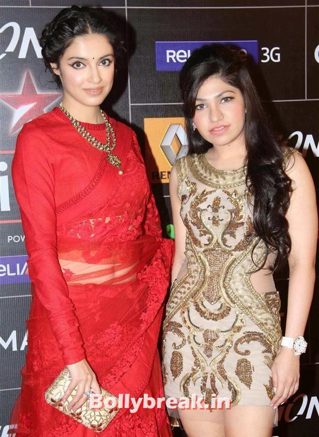 Divya Khosla and Tulsi Kumar, Global Indian Music Awards 2014 Pics
