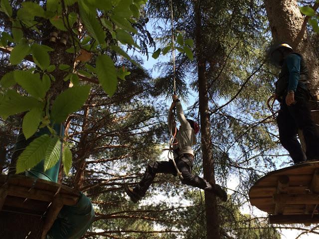 Parque de Aventura Las Batuecas. La Alberca - Caravaneros.com