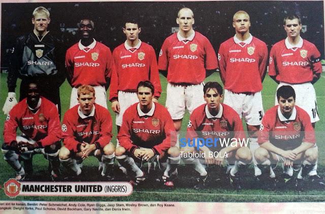 Tim Manchester United 1999