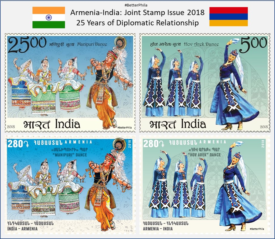 Stamps Armenia 100 Dram 2018 Children's Philately Armenian Cartoons Mnh Armenia Sheetlet In Many Styles