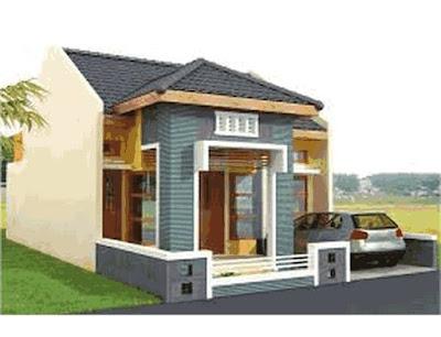 desain rumah idaman sederhana di kampung