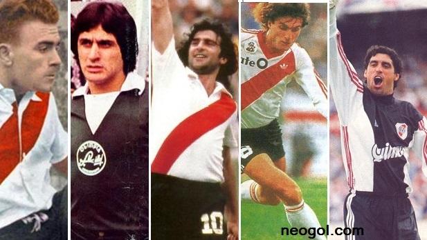River Plate hace historia en la Liga Española Di Stéfano, Fillol, Kempes, Ruggeri y Bonano