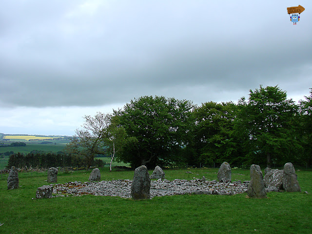 The Loanhead of Daviot Stone