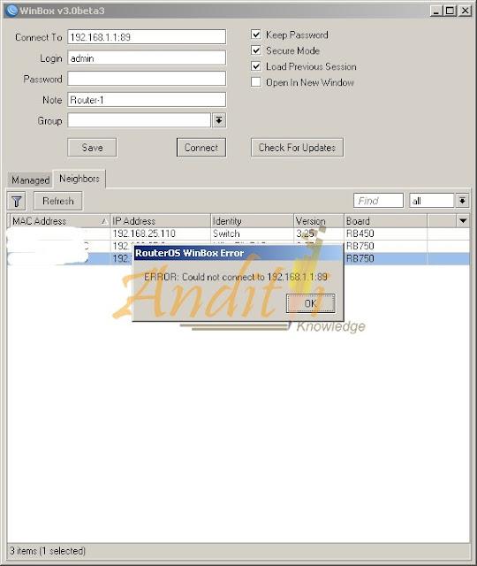 Tutorial Port Forwarding Akses Winbox dengan Menggunakan 2 Router Menggunakan Port 8291-anditii.web.id