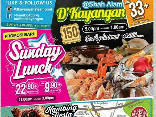Promosi Steamboat Grill Murah di Shah Alam : D'kayangan Steamboat
