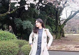 Faradilla Yoshi di Jepang