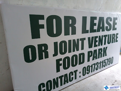 For Lease Signage - Tarpaulin Printing