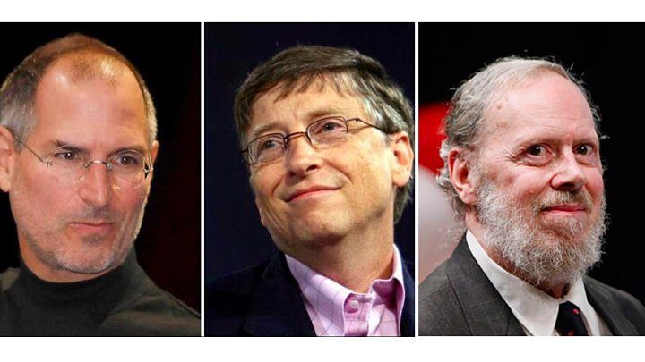 """¿Quién es más """"grande""""? ¿Dennis Ritchie, Bill Gates, o Steve Jobs?"""
