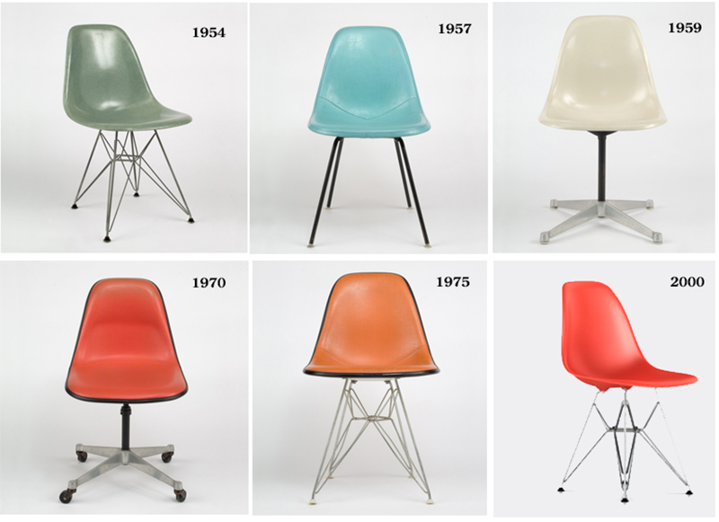 And In The 1990s, When New Findings Revealed Fiberglass Reinforced Plastic  Shells To Be Less Suitable For The Environment, Herman Miller Explored ...