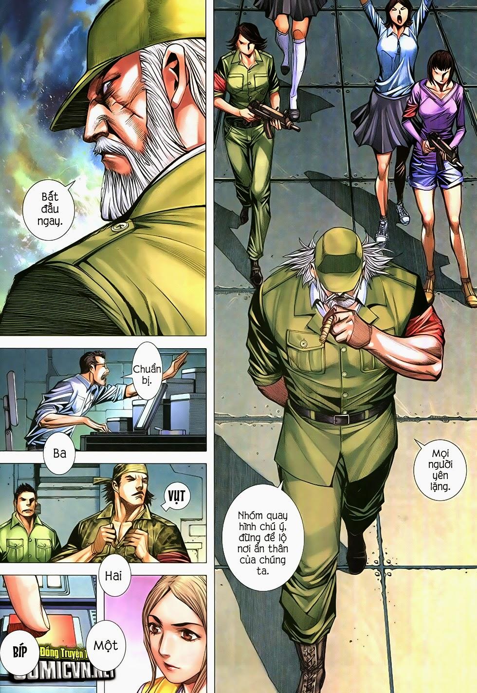 Đại Quân Phiệt chap 12 trang 6