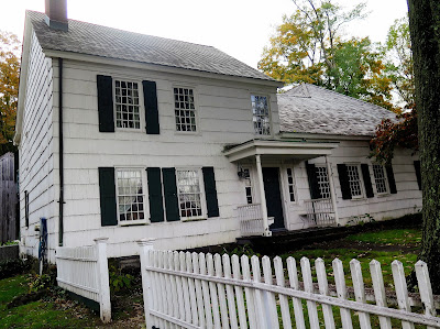 Ghosts have been reported by volunteers at the David Conklin house in Huntington NY.  Built in 1750.