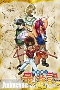 Gensoumaden Saiyuuki - Saiyuki 2000 Poster