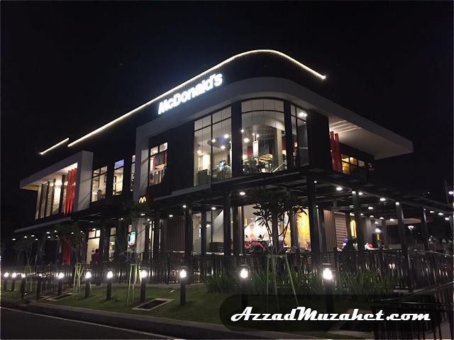 McDonald's Putrajaya Drive Thru 24 Hours
