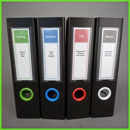 Keepfiling Professional Design Spine Label