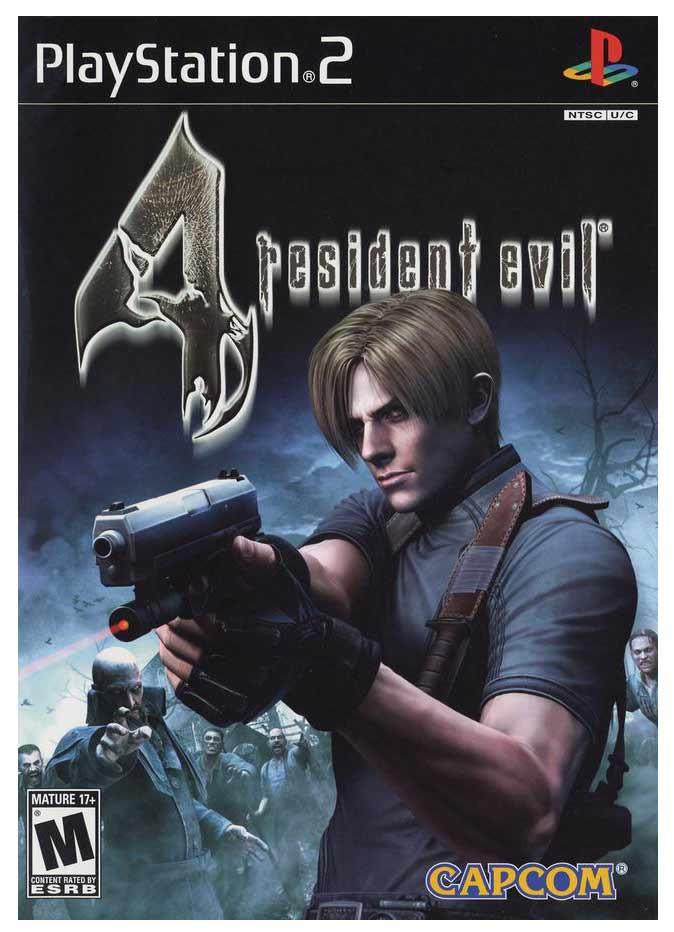 resident evil 4 ps2 13290 - Resident Evil 4 (NTSC - PS2)