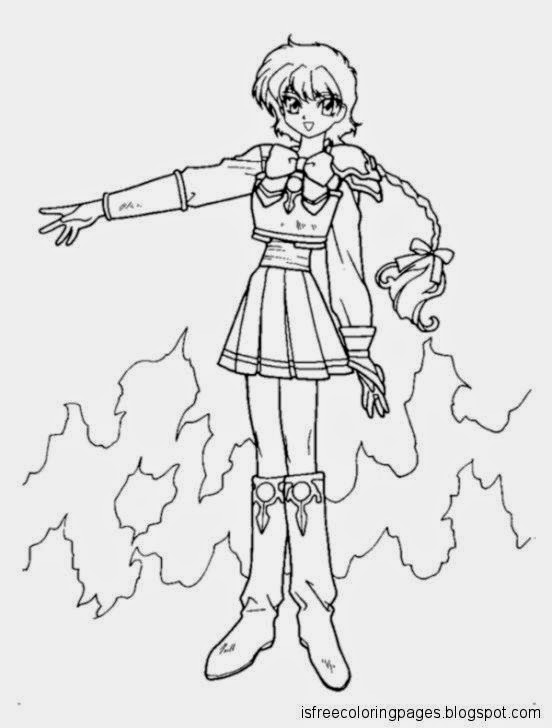 Magic knight rayearth coloring pages free coloring pages for 999 coloring pages