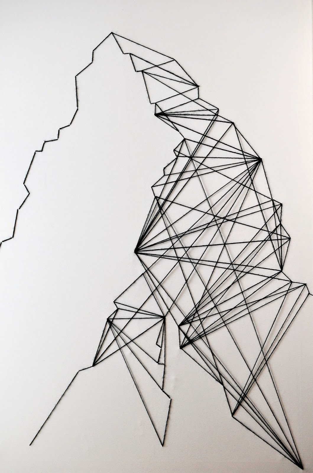 Math & Other Headaches | DIY GEOMETRIC WALL ART - Motte
