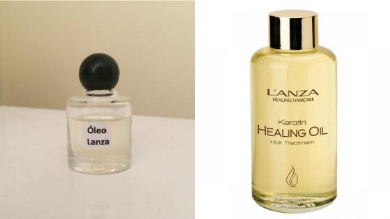 oleo lanza keratin healing oil