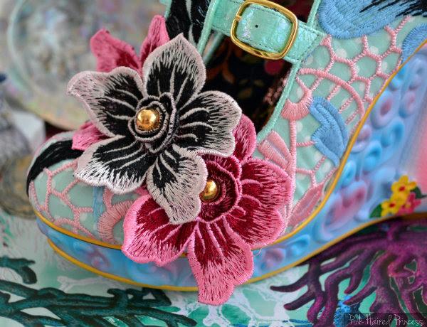 Aquata flower detail