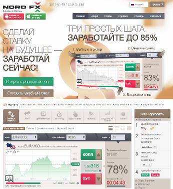 бинарные опционы NordFX