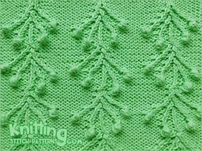 Crazy Maypole Knitting Stitch Patterns