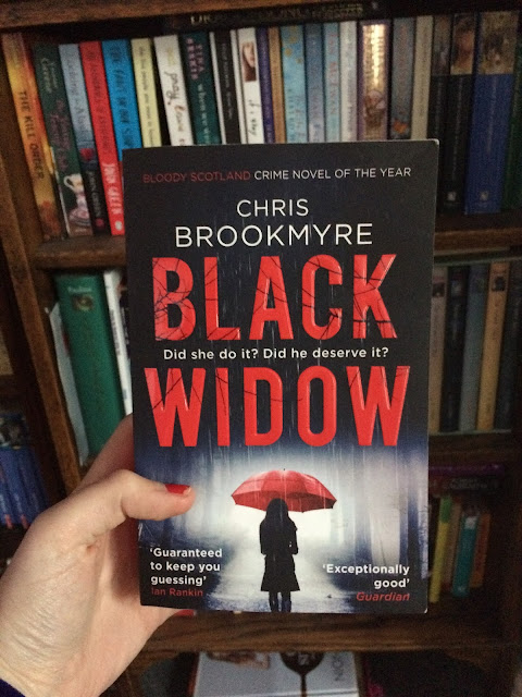 Review: Black Widow by Chris Brookmyre