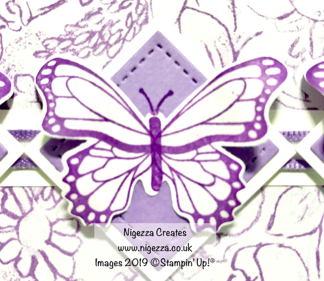 Botanical Butterfly Card For Card Sketch Challenge #SFA Nigezza Creates Stampin' Up!