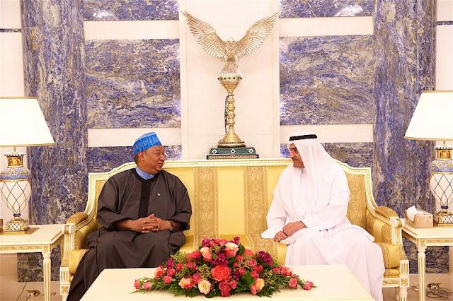 The Ruler of Fujairah Hosts OPEC Secretary General