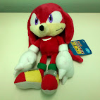Knuckles stuffed toy front
