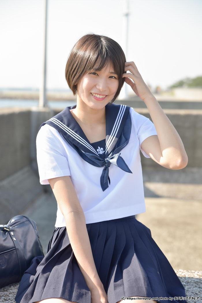 [LOVEPOP] Gravure No.50 – Usako Kurusu 来栖うさこ Photoset 09 – 14