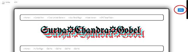 Cara Membuat Scroll Persentase di Blogspot