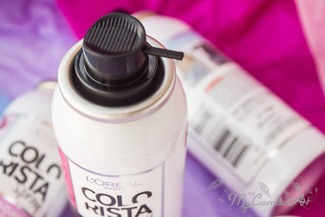 Mi experiencia con Colorista de L'Oreal: Washout y Spray
