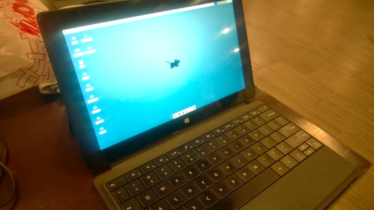 I hate the word blog : FreeBSD on a Microsoft Surface Pro