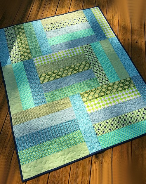 Afternoon Tango Baby Quilt - Tutorial