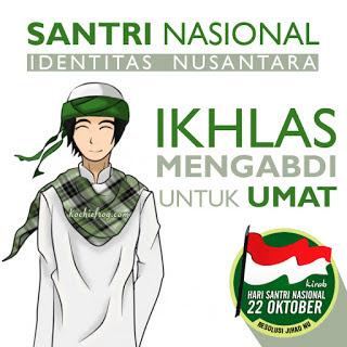 Selamat Hari Santri Nasional 22 Oktober 2016