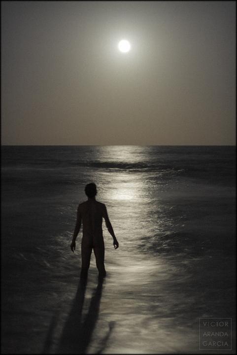 autorretrato, El Saler, luna, Límites