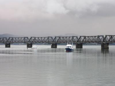 Puente sobre el puerto de Tauranga, Nueva Zelanda