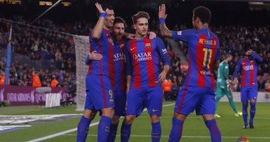 برشلونة يسجل نصف دستة في مرمى خيخون
