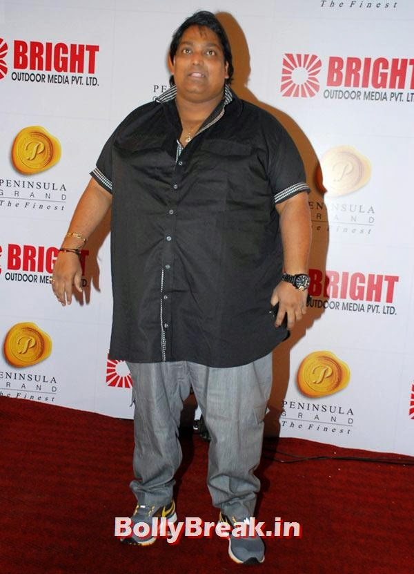 Ganesh Acharya, Ranbir, Hrithik at Bright awards 2014