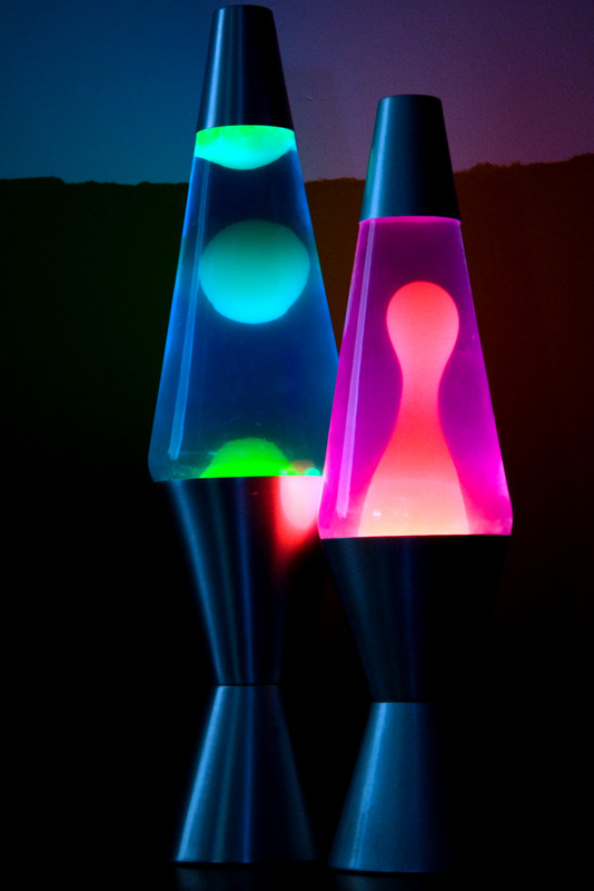 Science Worm Lava Lamps